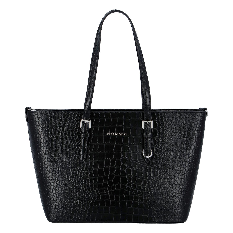 Dámská kabelka přes rameno černá - FLORA&CO Dianna Kroko