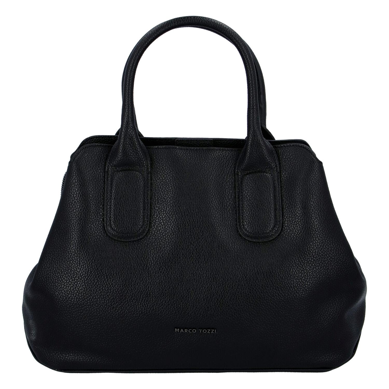 Dámská módní kabelka černá - Marco Tozzi Zulu