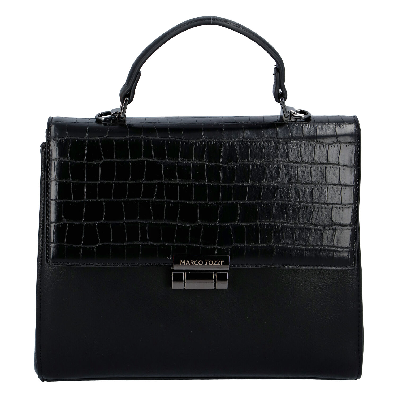 Luxusní dámská módní kabelka černá - Marco Tozzi Clas