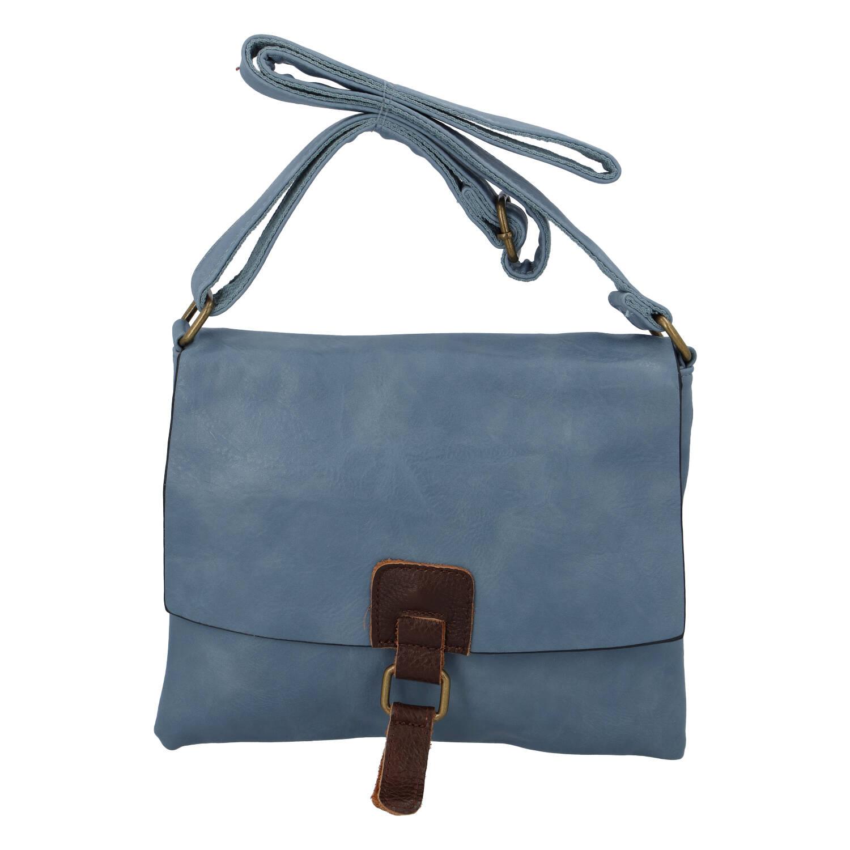 Dámská crossbody kabelka bledě modrá - Paolo Bags Jostein