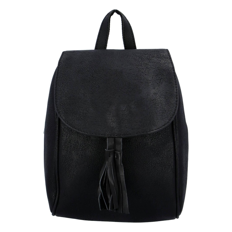 Dámský městský batoh černý - Paolo Bags Doseph