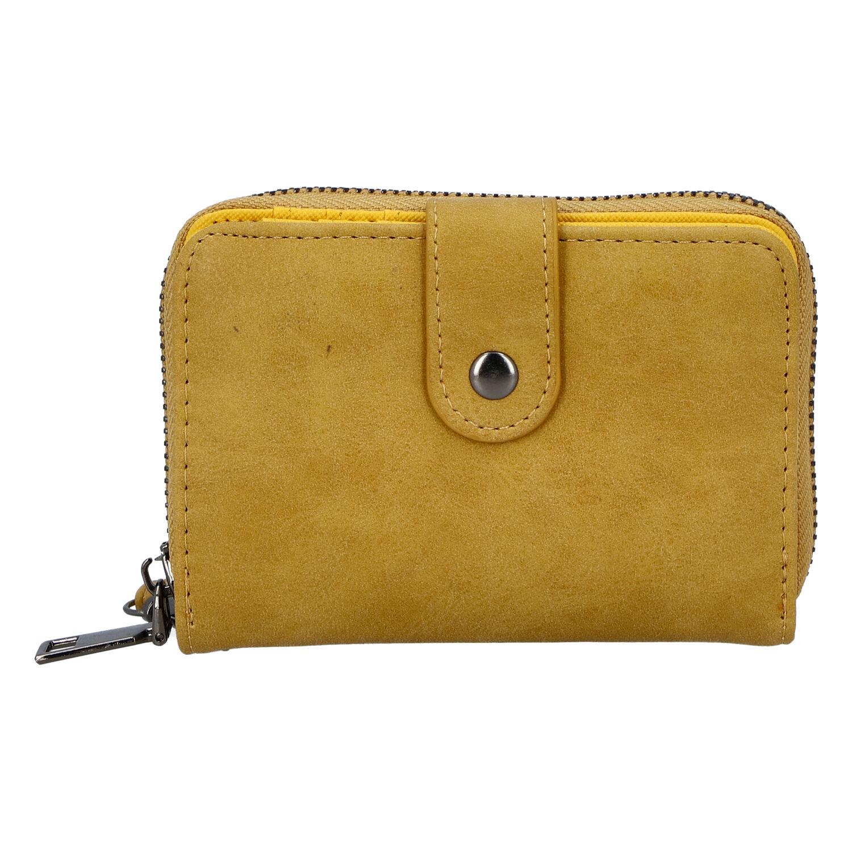 Dámská praktická tmavě žlutá peněženka - Just Dreamz Erin
