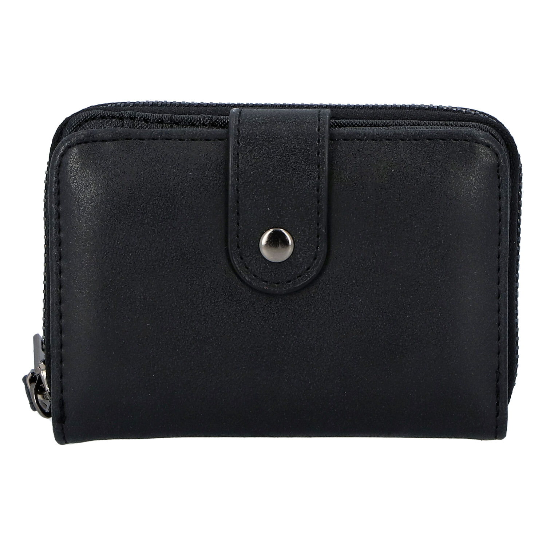 Dámská praktická černá peněženka - Just Dreamz Erin