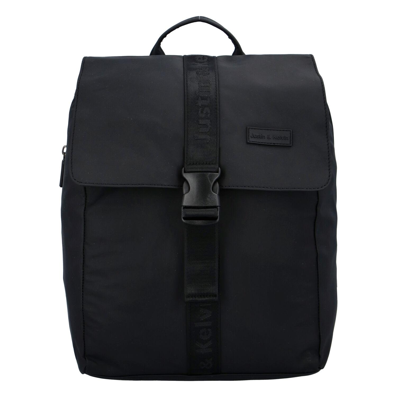 Pánský sportovní batoh černý - Justin & Kelvin Carl