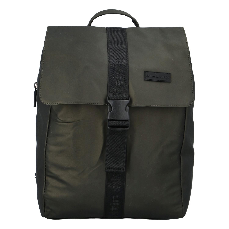 Pánský sportovní batoh tmavě zelený - Justin & Kelvin Carl