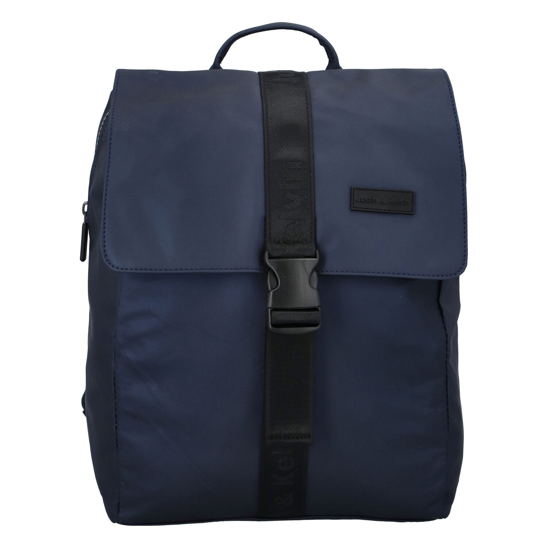 Pánský sportovní batoh tmavě modrý - Justin & Kelvin Carl