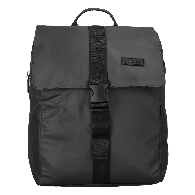 Pánský sportovní batoh tmavě šedý - Justin & Kelvin Carl