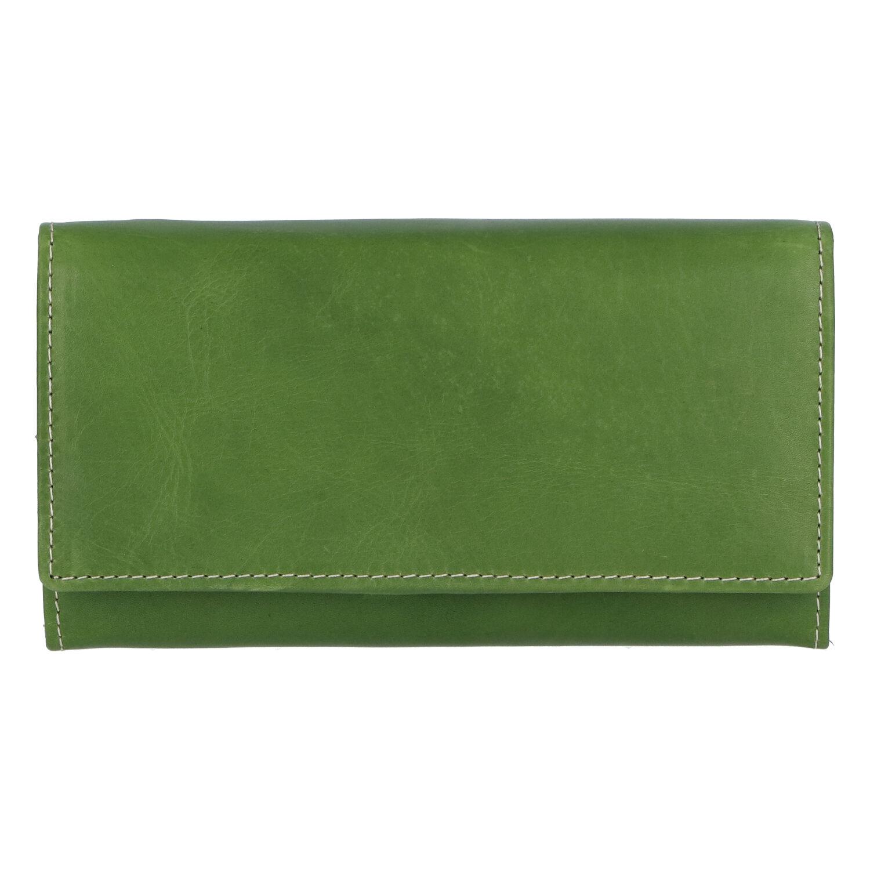 Dámská kožená peněženka zelená - Tomas Kalasia