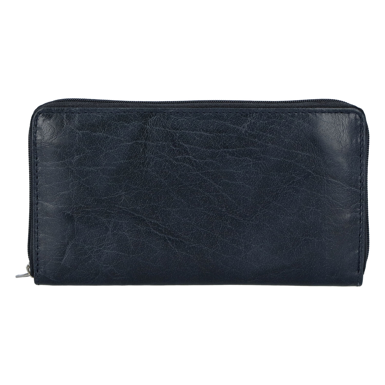 Dámská kožená peněženka tmavě modrá - Tomas Imvilophu