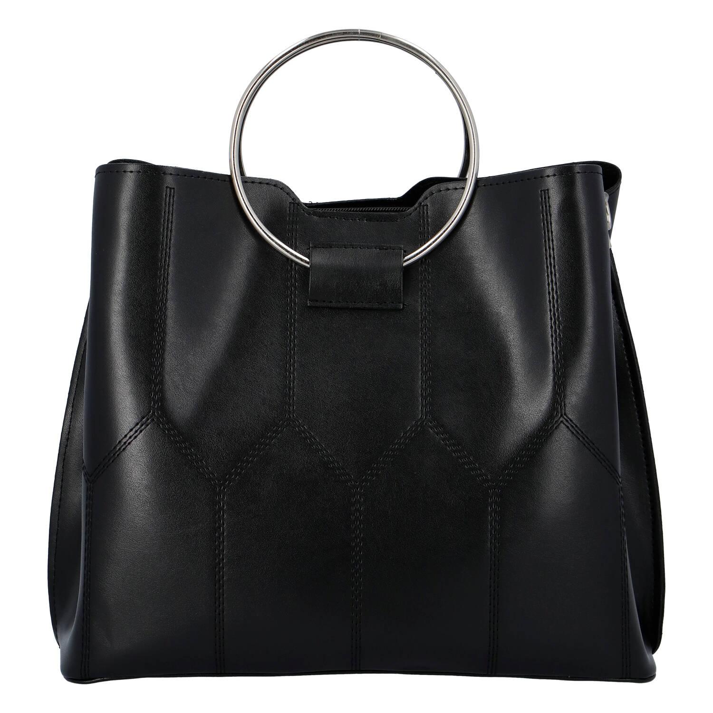 Luxusní dámská kabelka černá - Delami Gracelynn