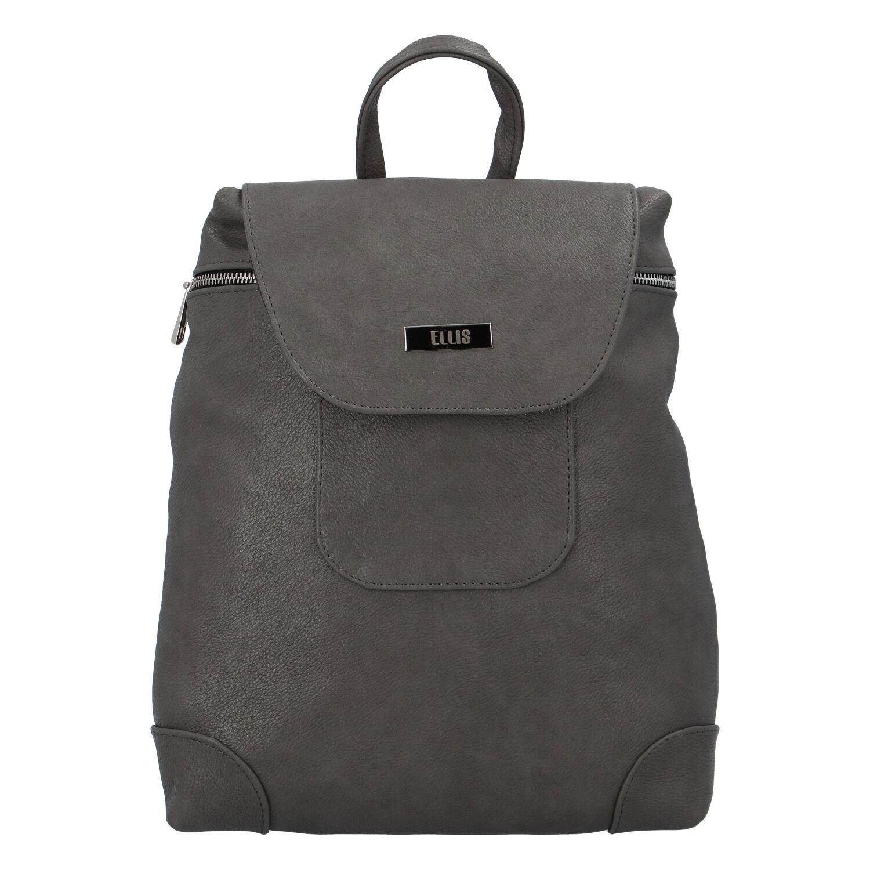 Dámský městský batůžek tmavě šedý - Ellis Haag