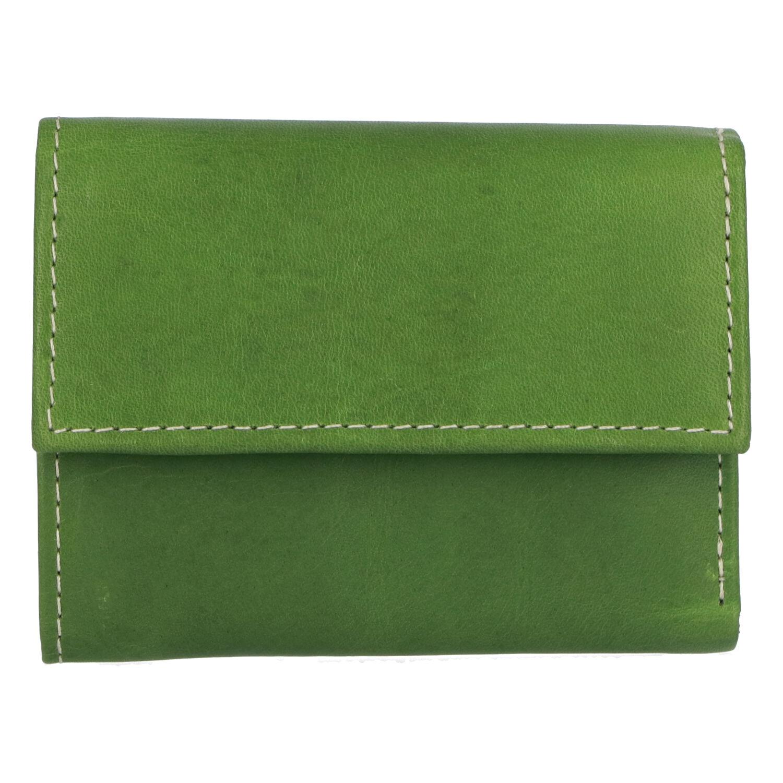 Dámská kožená peněženka zelená - Tomas Gulia