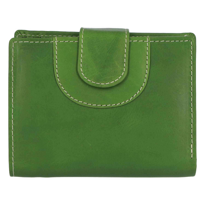 Elegantní kožená peněženka zelená - Tomas Pilia