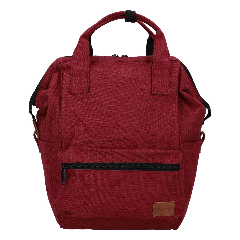 Látkový batoh červený - New Rebels Cody