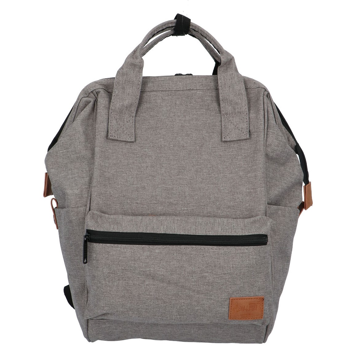 Látkový batoh šedý - New Rebels Cody
