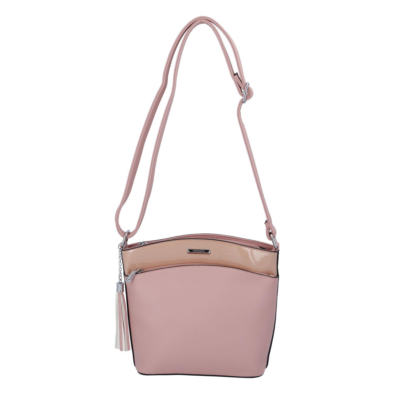 Dámská crossbody kabelka růžová - Silvia Rosa Barbie