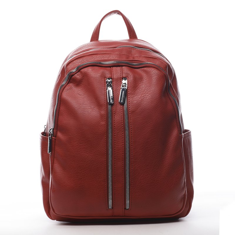 Dámský batoh červený - Silvia Rosa Lalela
