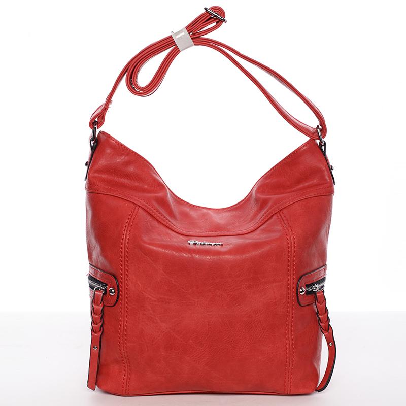Dámská crossbody kabelka červená - Delami Bernardette II