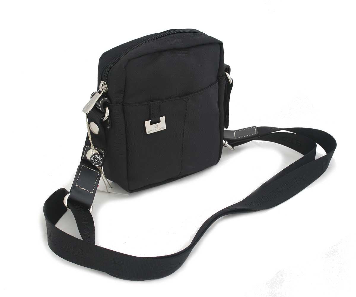 Dámská kabelka černá crossbody - Hexagona 326963