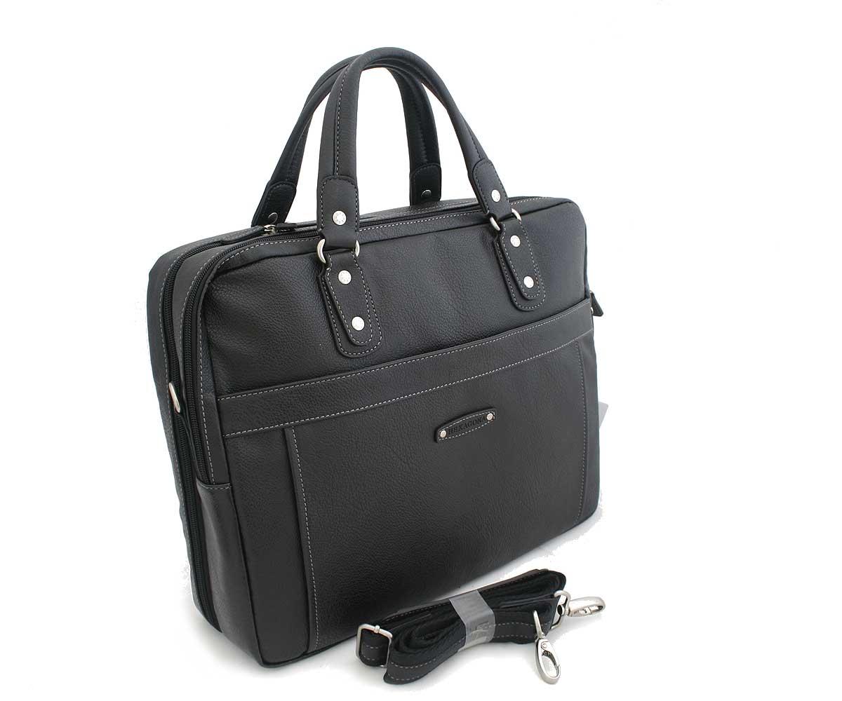 Černá taška-aktovka Hexagona C99604