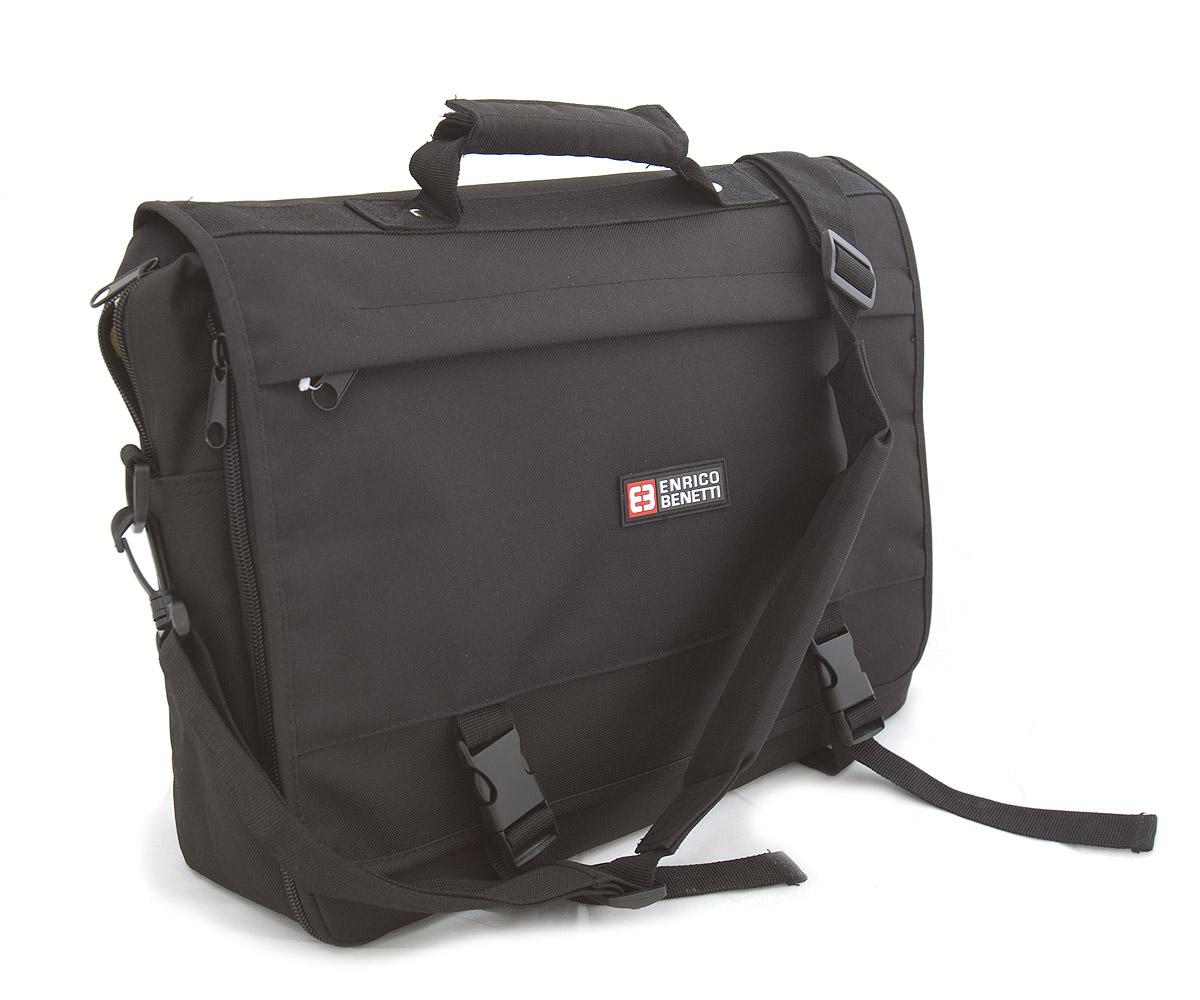 Pánská taška přes rameno černá - Enrico Benetti 14321