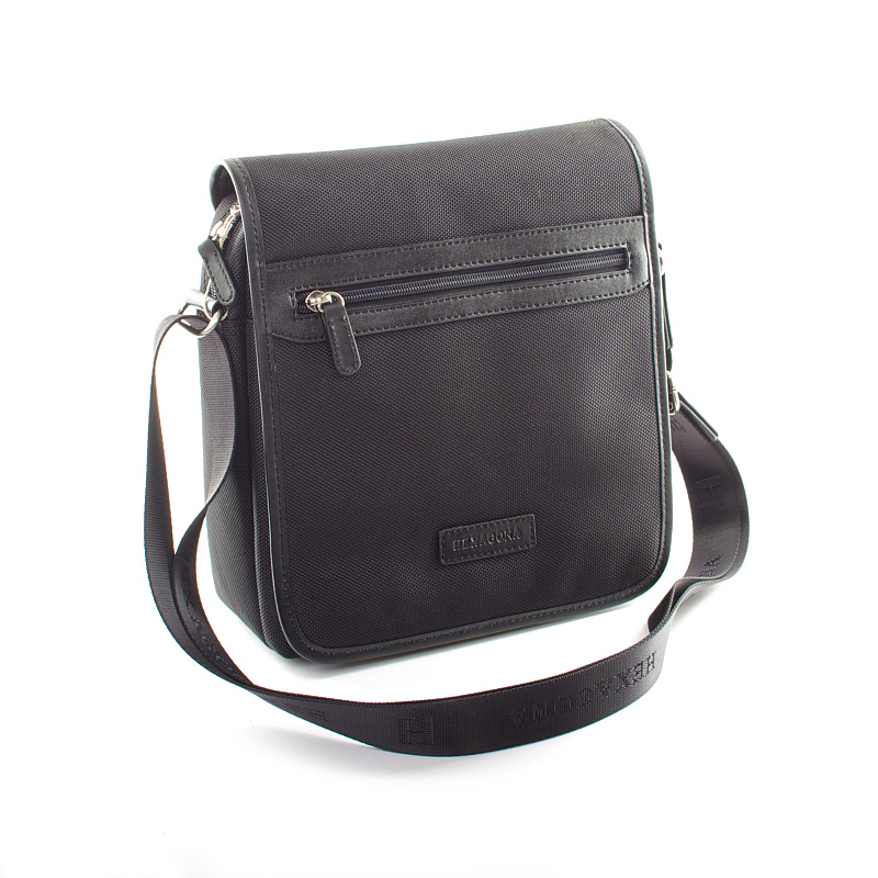 Černá pánská taška Hexagona D72278