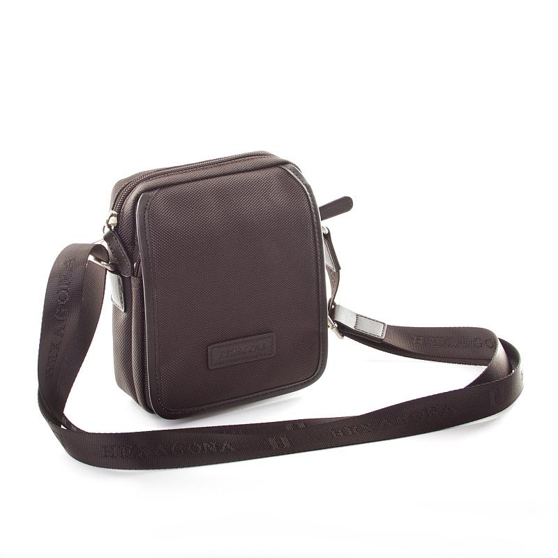 Černá pánská taška Hexagona D72282