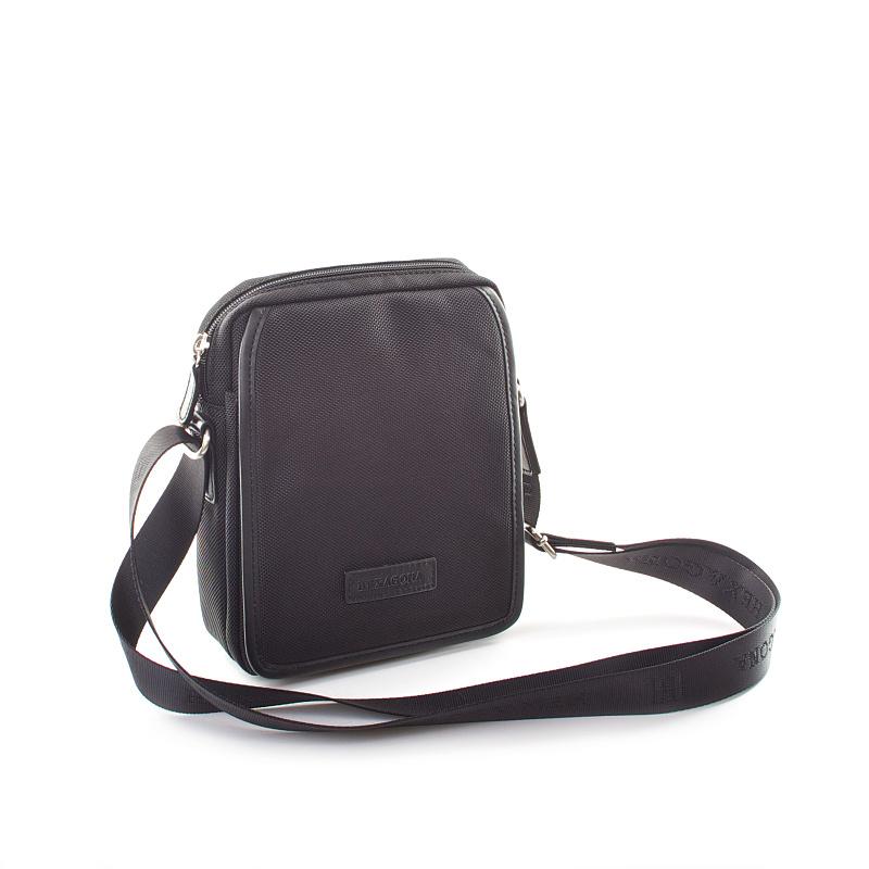 Černá pánská taška přes rameno Hexagona D72283