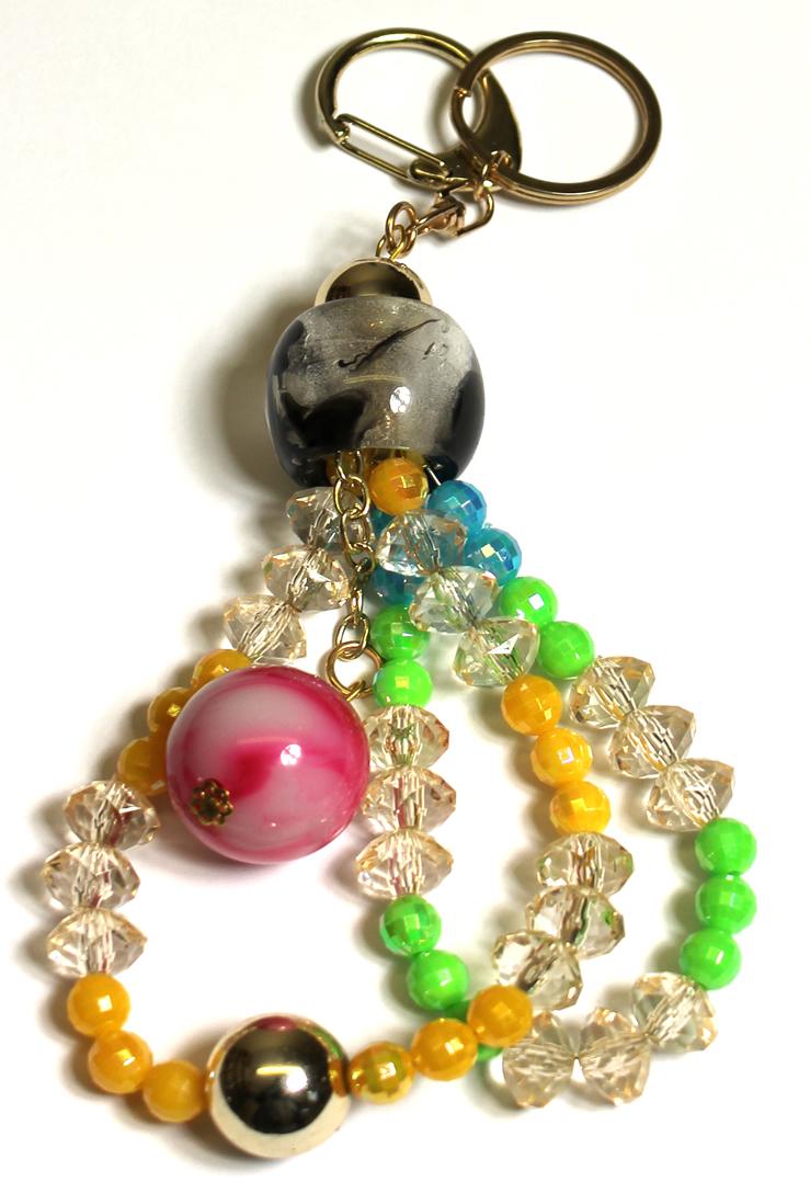 Přívěsek na kabelku barevný C1005