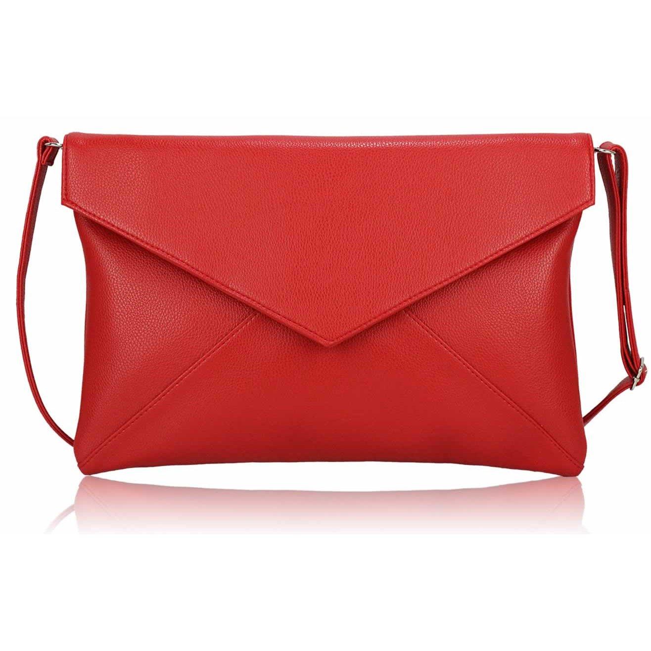 Červené psaníčko LS Fashion LSE00220