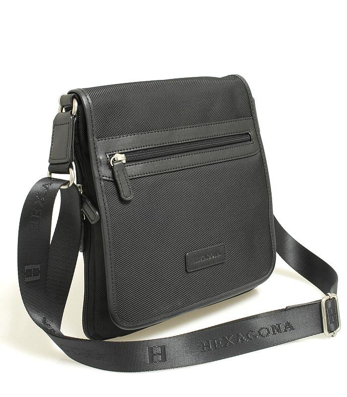 Černá taška přes rameno Hexagona D72248