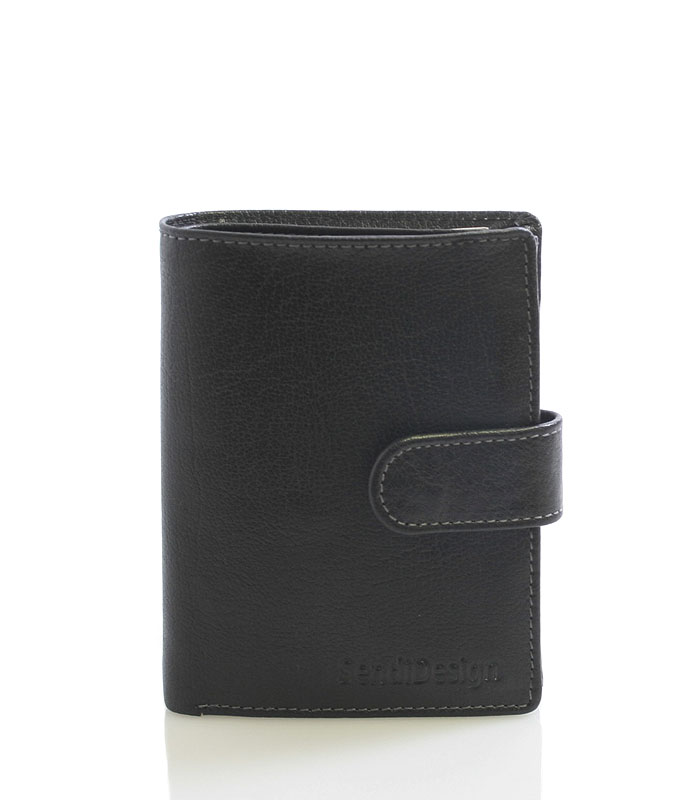 Pánská peněženka černá - SendiDesign 1040