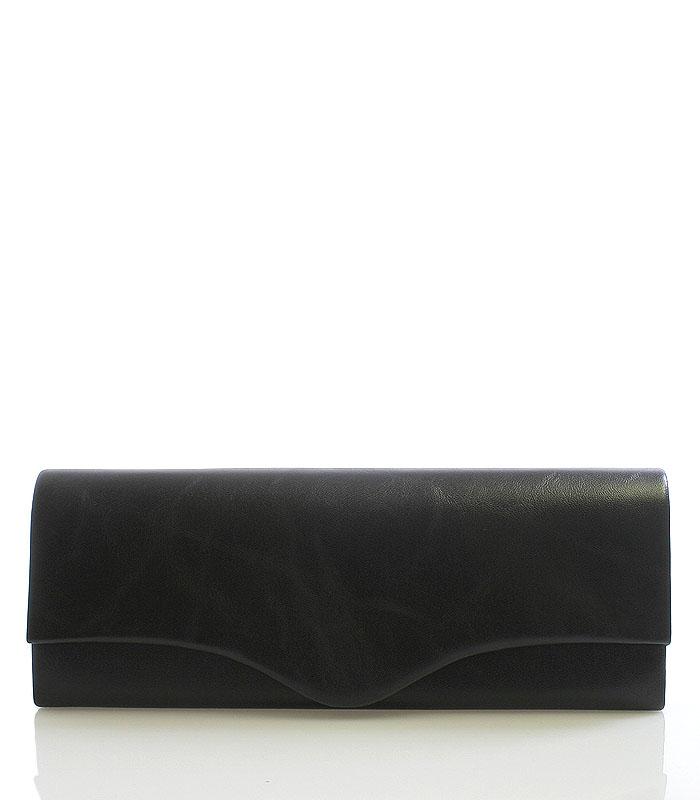 Elegantní černé psaníčko 6021