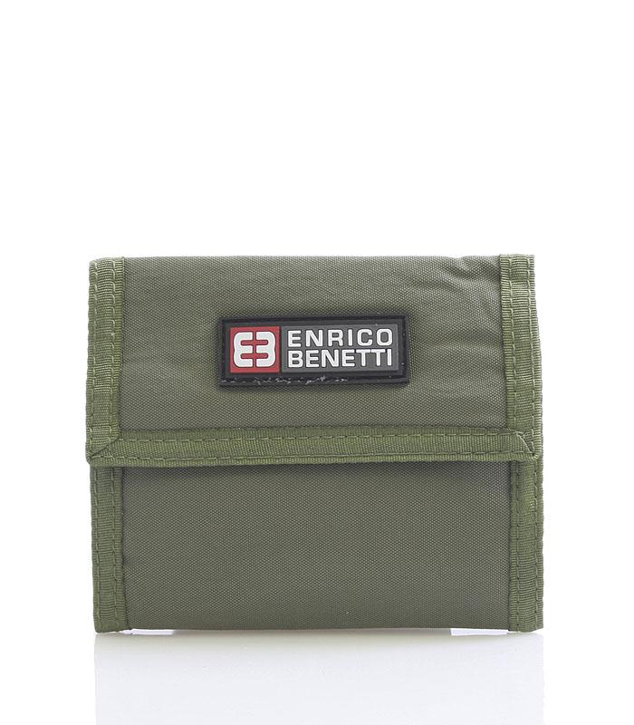 Olivová látková peněženka Enrico Benetti 14607