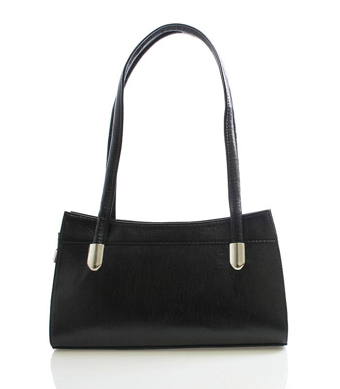 Dámská kabelka černá přes rameno Royal Style 0809