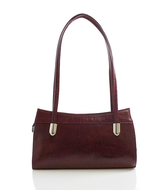 Dámská kabelka červená přes rameno - Royal Style 0809