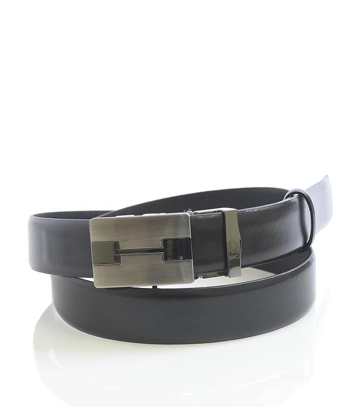 Pánsky oblekový opasek automatický černý - Maxim