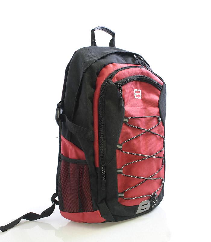 Sportovní batoh červený - Enrico Benetti