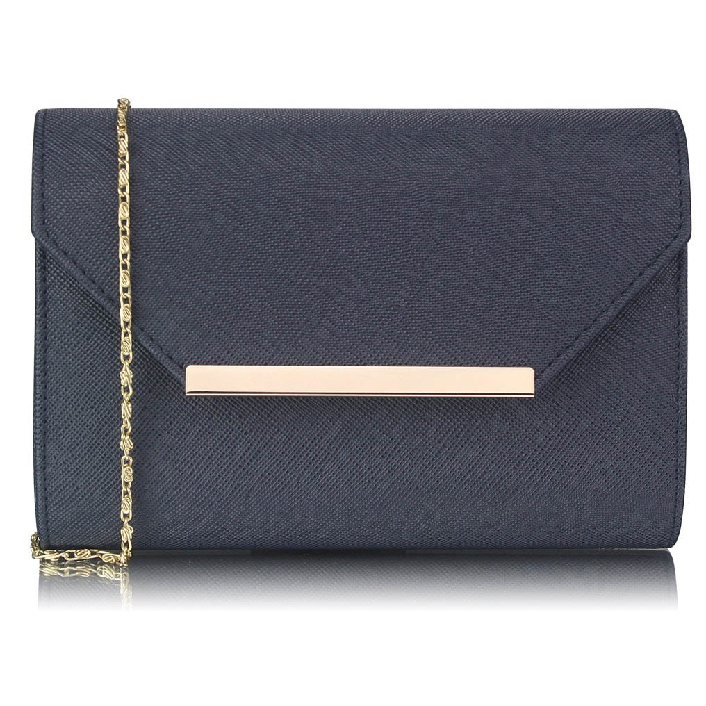 Luxusní tmavě modré psaníčko LS Fashion 0293