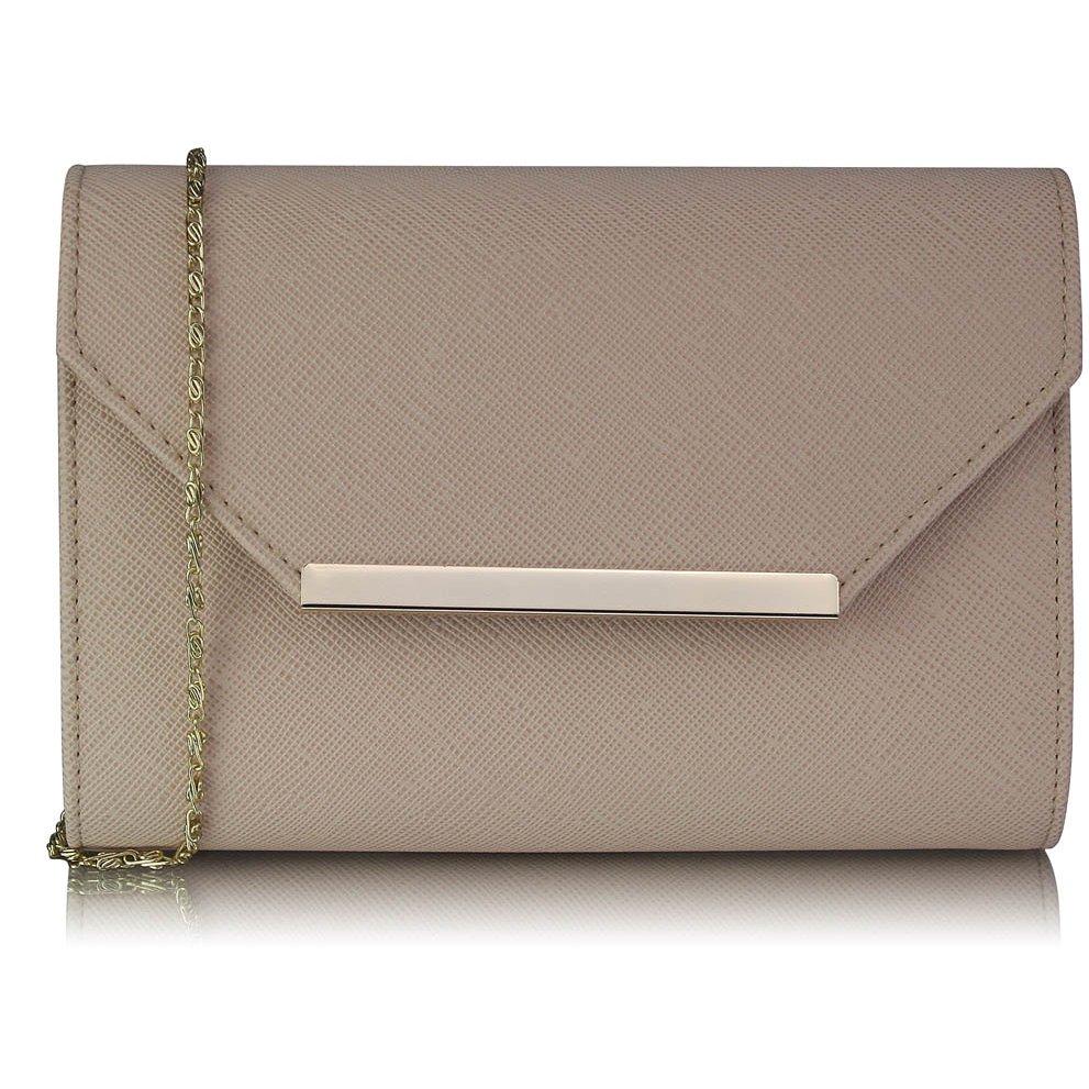 Luxusní pudrové psaníčko LS Fashion 0293