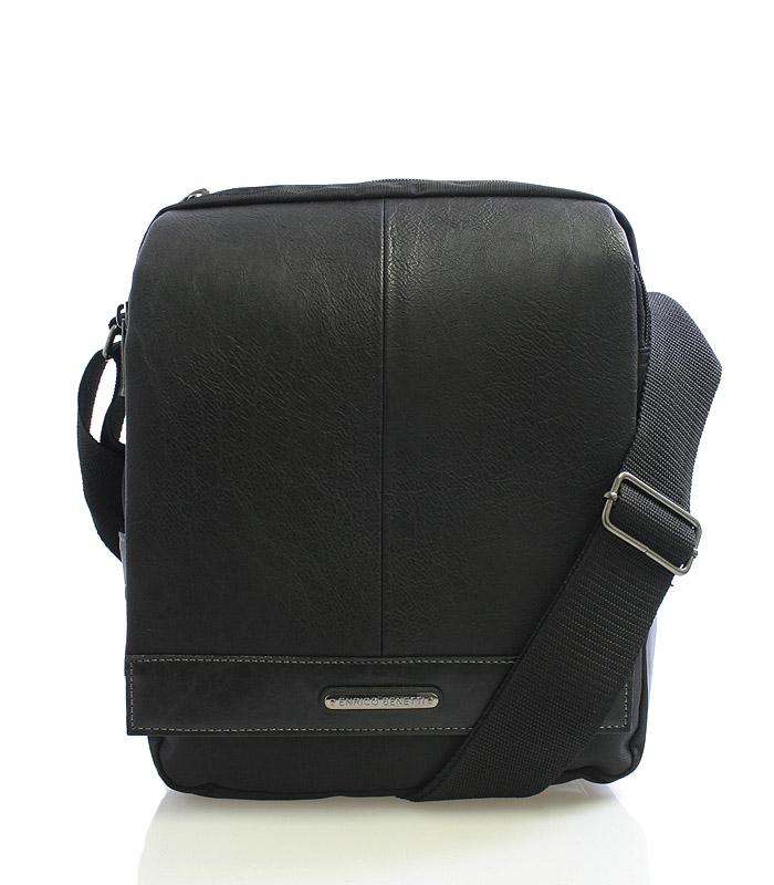 Černá pánská taška přes rameno Enrico Benetti 54318