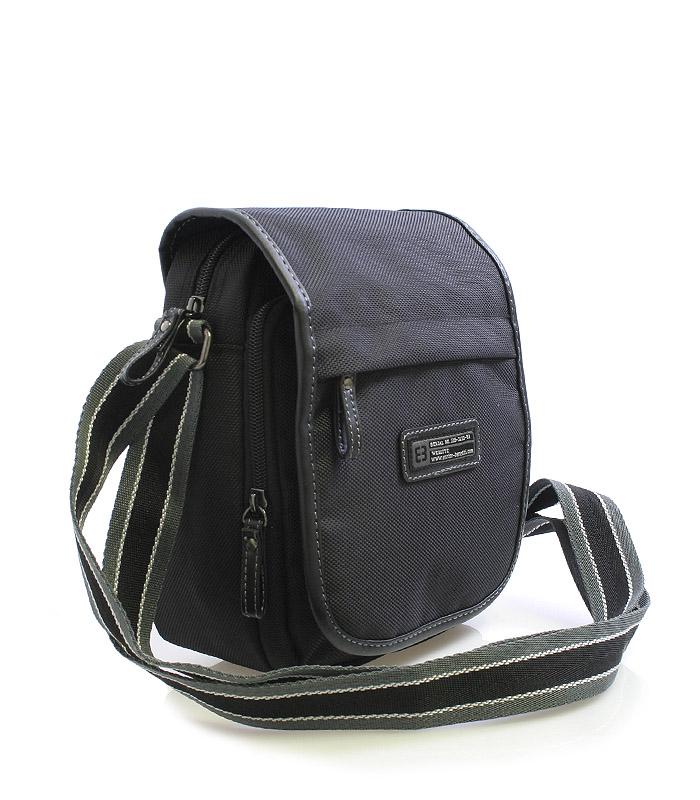 Černá taška na doklady Enrico Benetti 4467