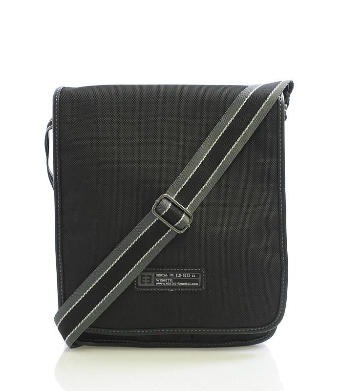 Černá taška přes rameno Enrico Benetti 4470