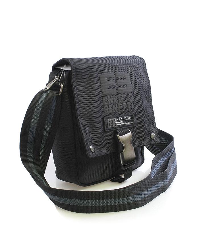 Černá taška na doklady Enrico Benetti 4478
