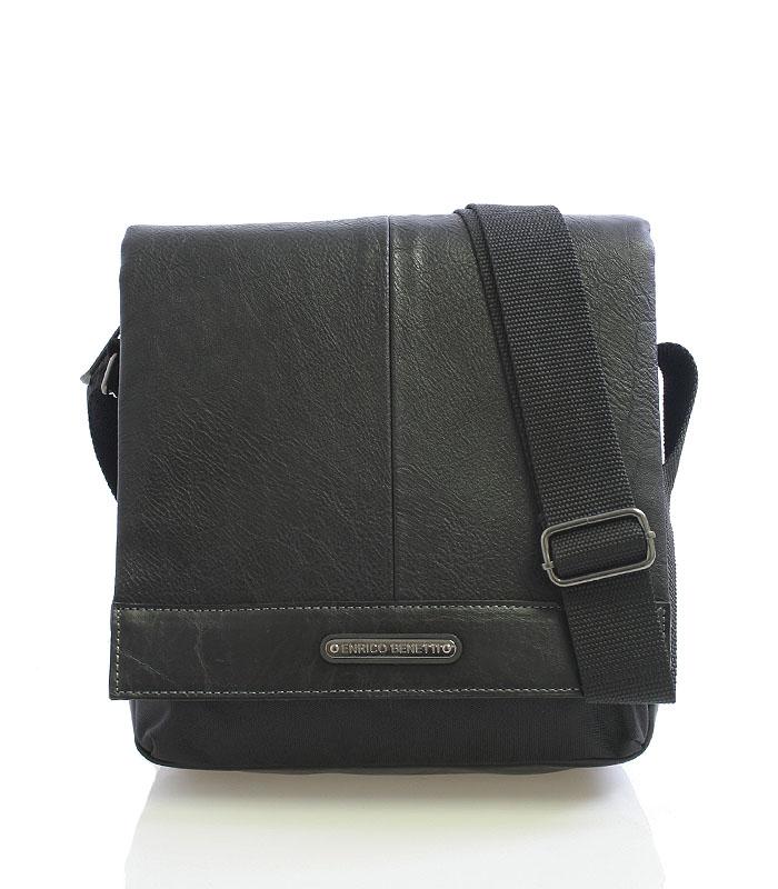 Černá taška na doklady Enrico Benetti 4482