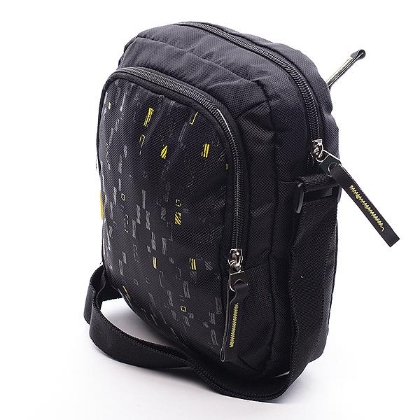 Černá taška přes rameno Diviley Marley