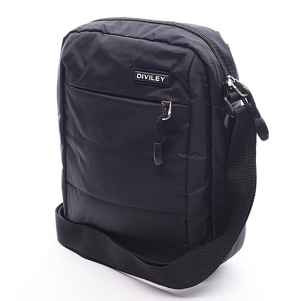 Černá taška přes rameno Diviley Ryan