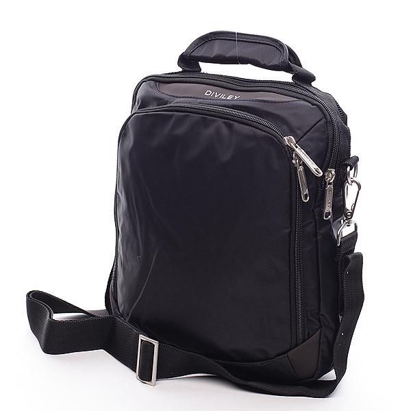 Černá taška přes rameno Diviley Cody