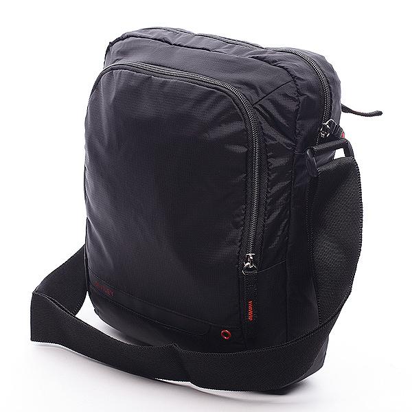 Černá taška přes rameno Diviley Rourke