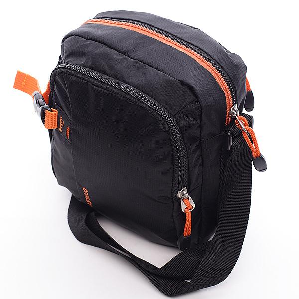 Černá taška přes rameno Diviley Cecil